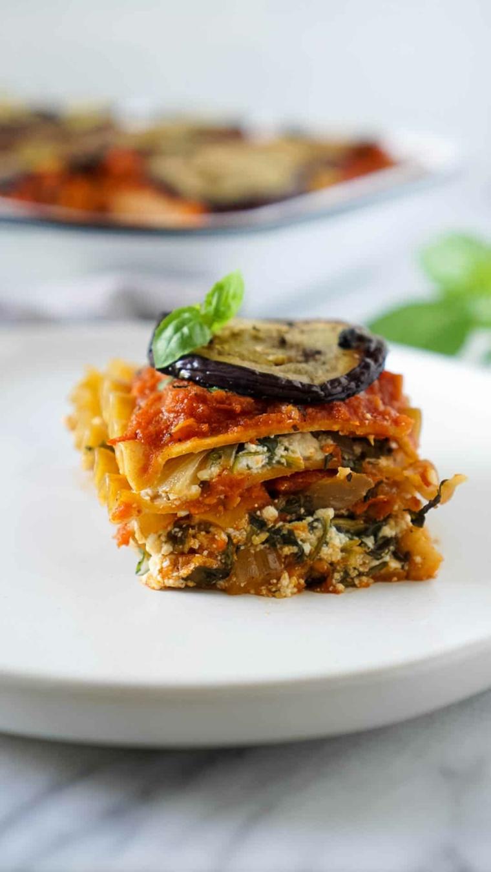 ricette vegane secondi vegan lasagna con melanzane e tofu