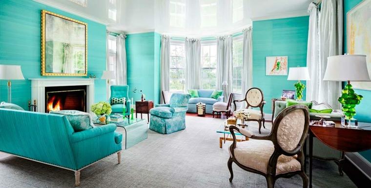 arredo soggiorno tiffany con camino arredamento con mobili stile classico