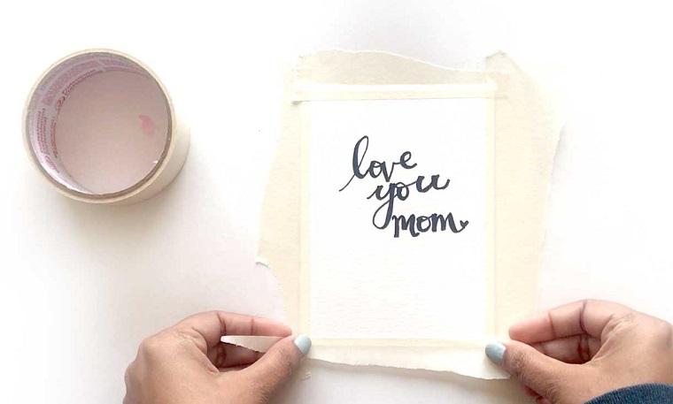 cartolina con dedica regali personalizzati festa della mamma