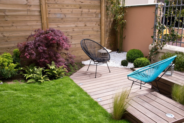 come sistemare il giardino spendendo poco outdoor con prato verde