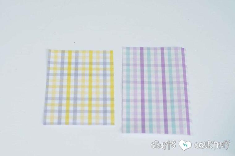 scrapbook fogli di carta colorati lavoretti di pasqua fai da te