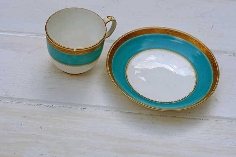 tazzina e piattino da caffè tutorial vaso da parete regali personalizzati festa della mamma