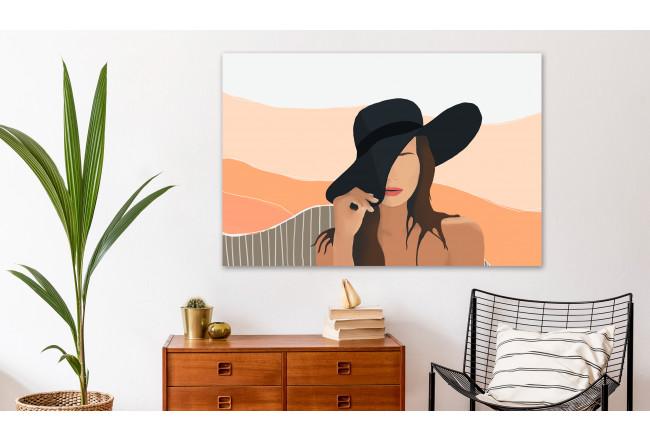 wall art decorazione parete soggiorno con quadro stampa su tela