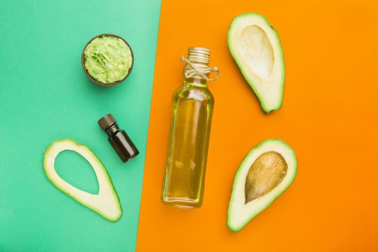 avocado e olio extra vergine d oliva maschera rinforzante capelli fai da te