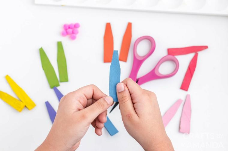 come fare coniglietto pasquale di carta lavoretti di pasqua per bambini