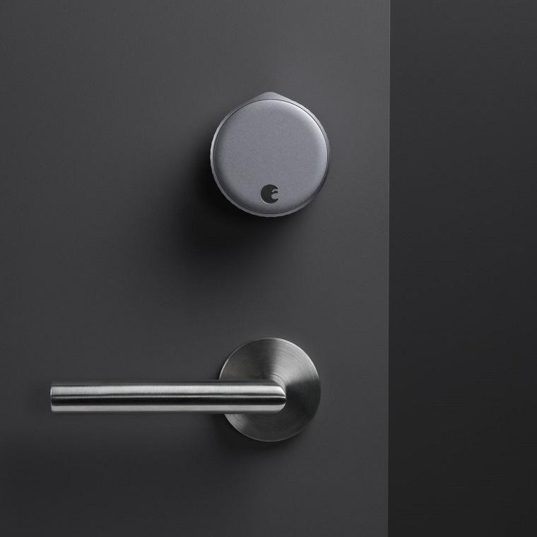 maniglie per porte dal design moderno porta di colore grigio