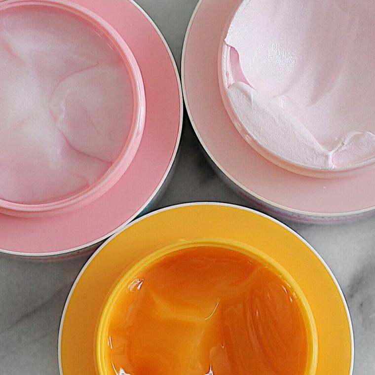 maschera rinforzante capelli fai da te ciotole con miele e yogurt naturale
