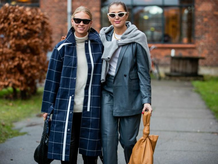 abbigliamento donna autunno inverno 2021 2022 borsa in pelle gialla