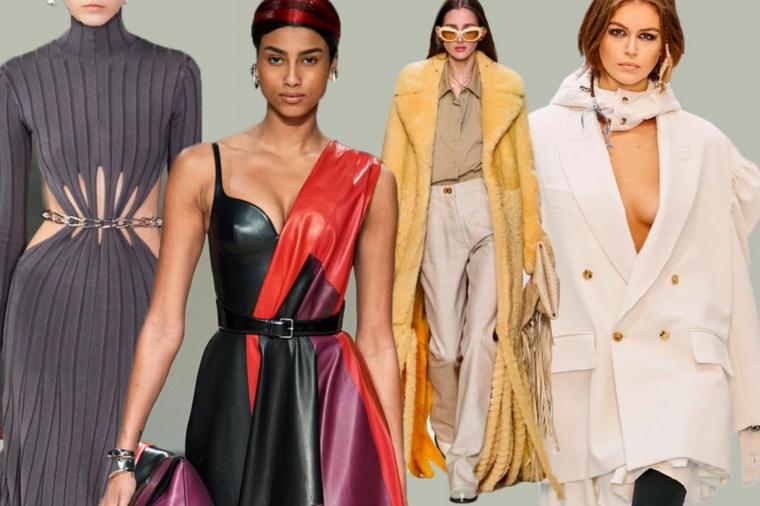 abbigliamento elegante donna stagione autunno inverno2021 2022