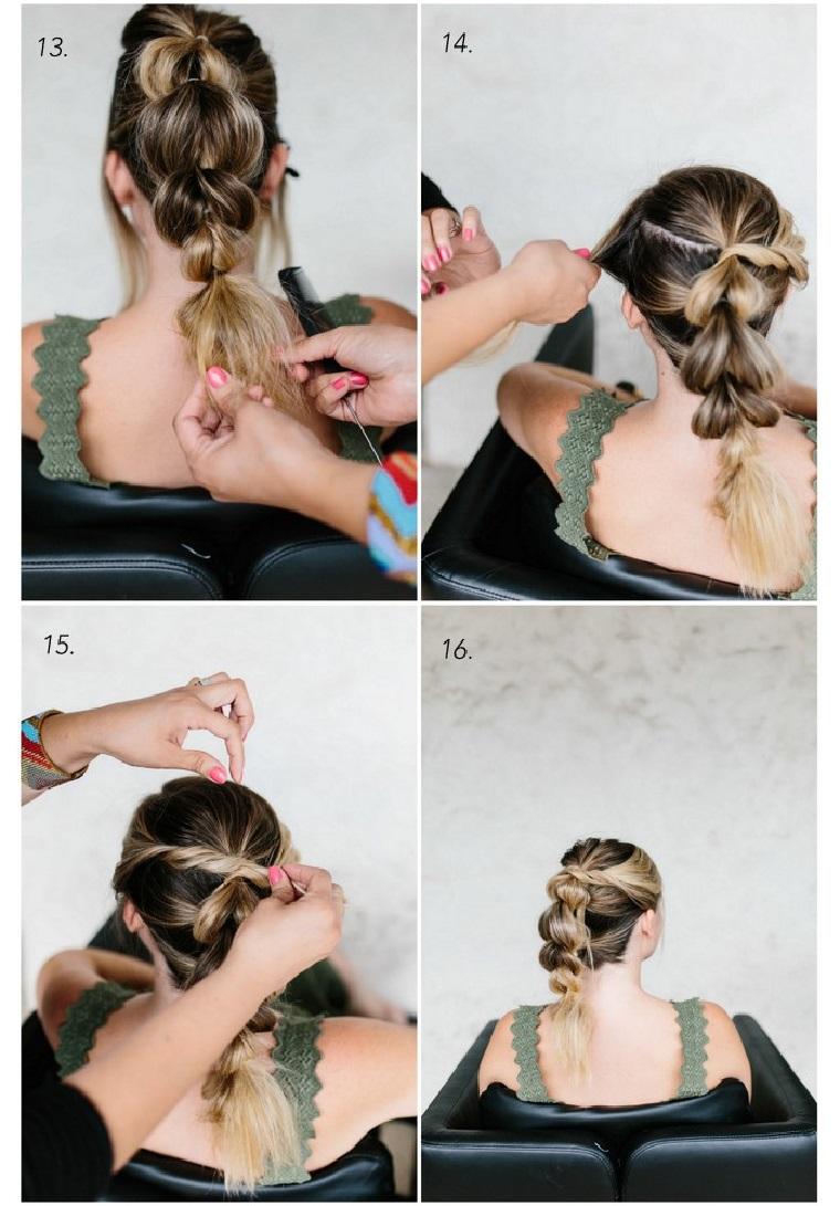 acconciature da sera per capelli lunghi come fare una treccia