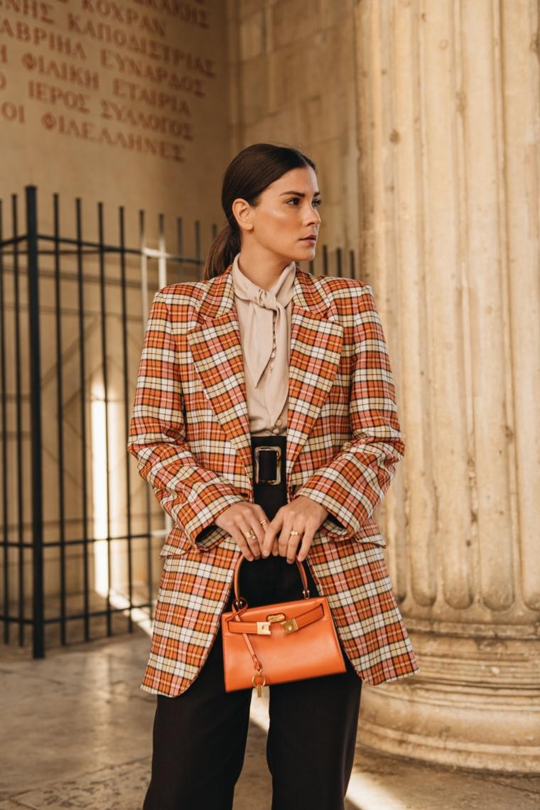 cappotto large colorato abbigliamento stagione autunno 2021 femminile