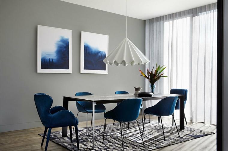 sala da pranzo con set tavolo e sedie qual è il colore più luminoso
