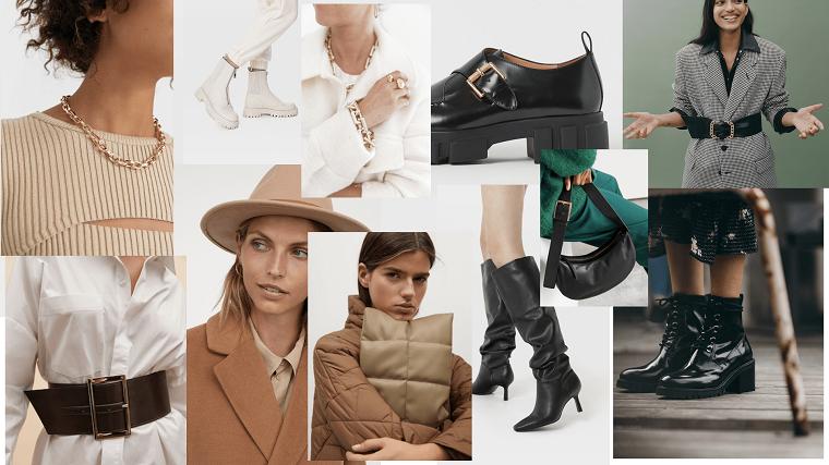 scarpe autunnali moda 2021 abbinamenti cappotto e borse invernali