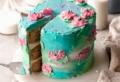 Torte decorate con panna montata colorata: istruzioni per una torta da favola!