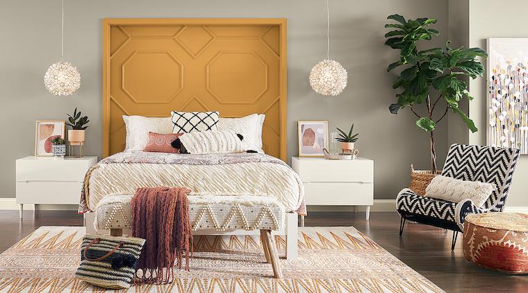 colori pantone 2021 grigio e giallo come dipingere camera da letto idee