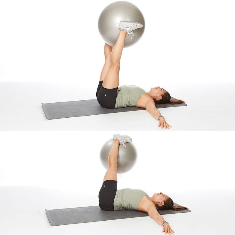 esercizi con palla eliminare grasso addominale in poco tempo