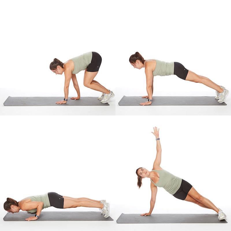 esercizi plank come eliminare la pancia velocemente