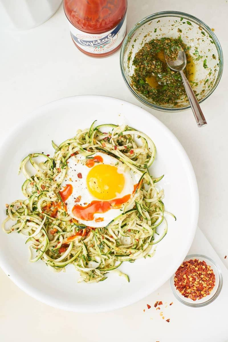 cosa cucinare stasera spaghetti di zucchine