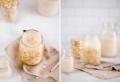 Latte di avena fatto in casa: il latte vegetale senza zuccheri aggiunti!
