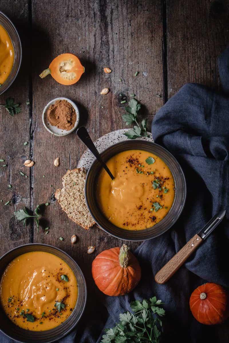 zuppa di zucca vellutata