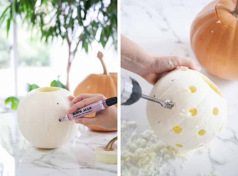 come fare la zucca di halloween