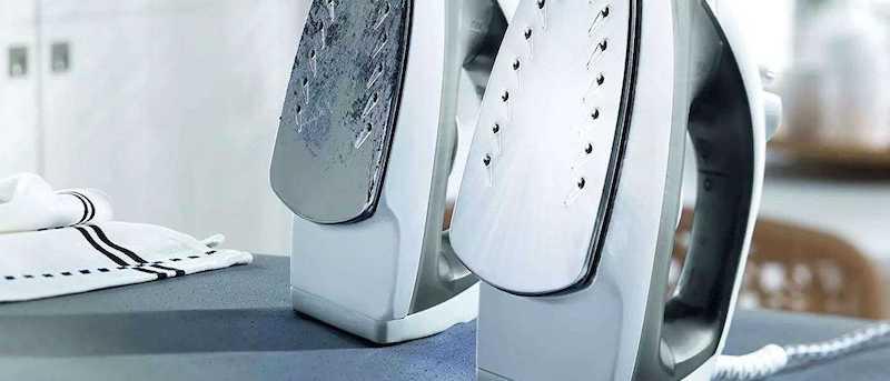 come pulire la piastra del ferro da stiro