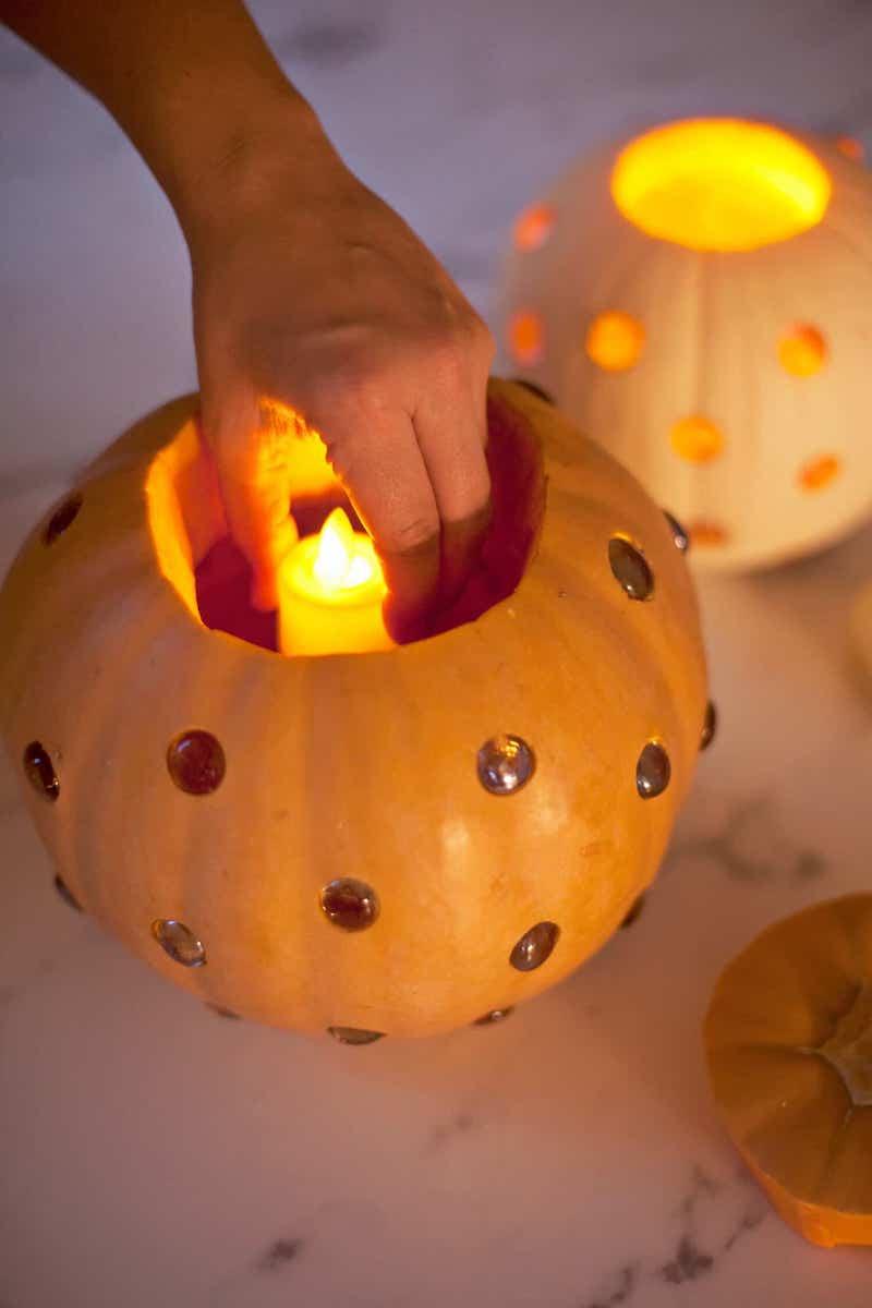 lanterna di zucca per halloween