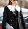 maglione con colletto outfit inverno 2021